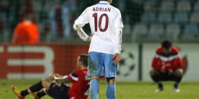 Trabzonspor'da 4 dakika hüznü