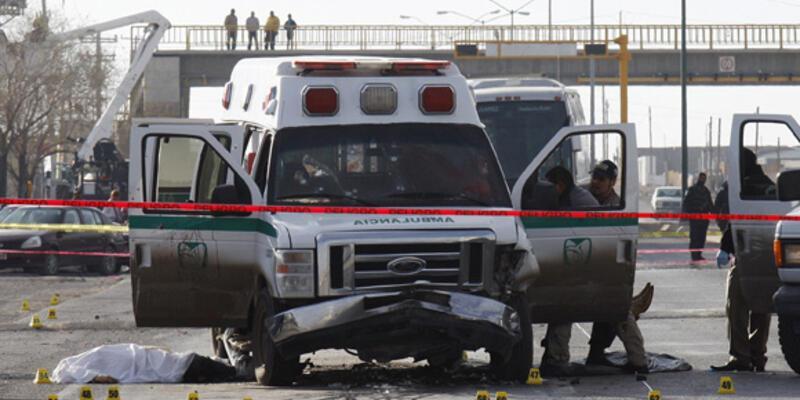 Ambulansa silahlı saldırı!