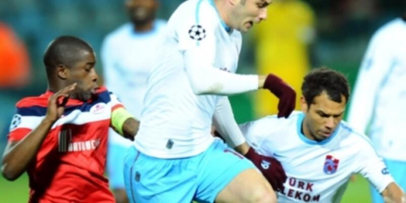 Trabzonspor tuhaf bir biçimde tarihe geçti!
