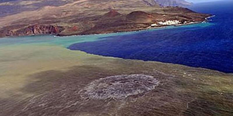 Yeni bir ada mı oluşuyor?