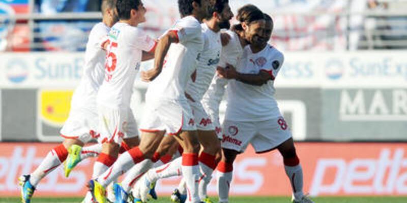 3 puan Antalyaspor'un