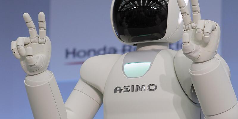 İşte karşınızda yeni ASIMO...