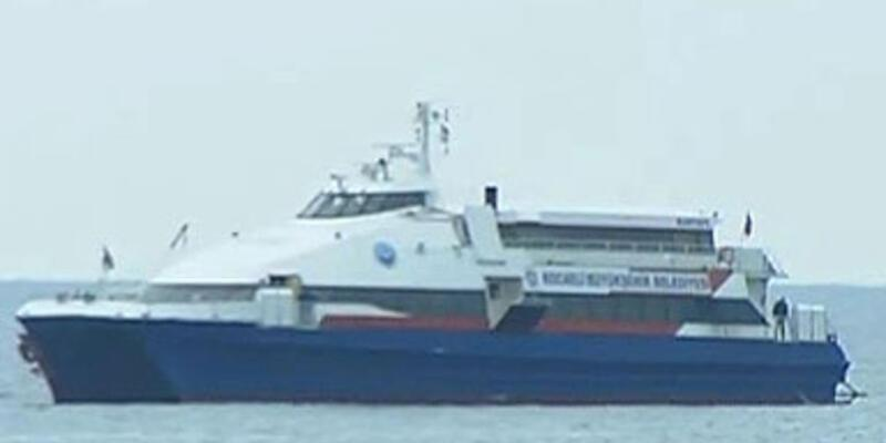 Deniz otobüsü kaçırıldı