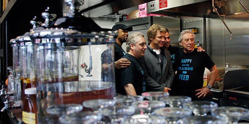 Bon Jovi'den 'fiyat listesiz' restoran
