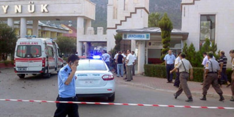 Antalya'da canlı bomba eylemi