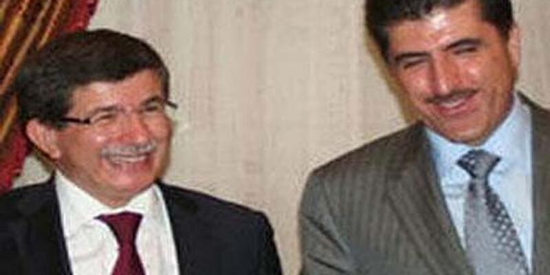 Davutoğlu New York'ta Barzani ile görüştü