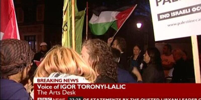İsrailli orkestranın konserini bastılar