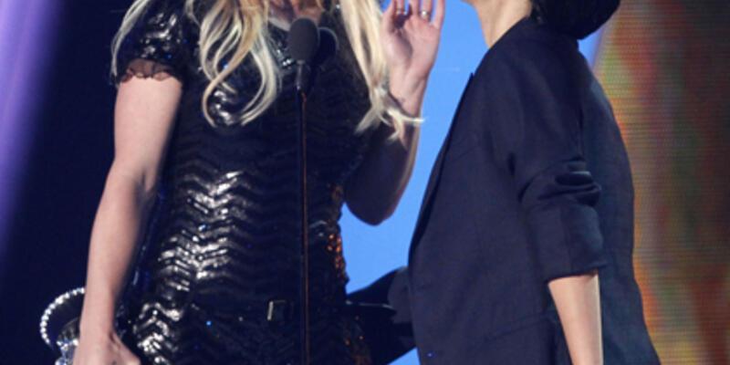 MTV Müzik Ödülleri'nde çılgın eğlence
