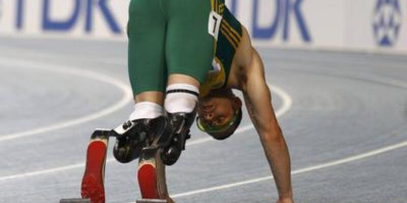 Ampute atlet Pistorius finale kalamadı