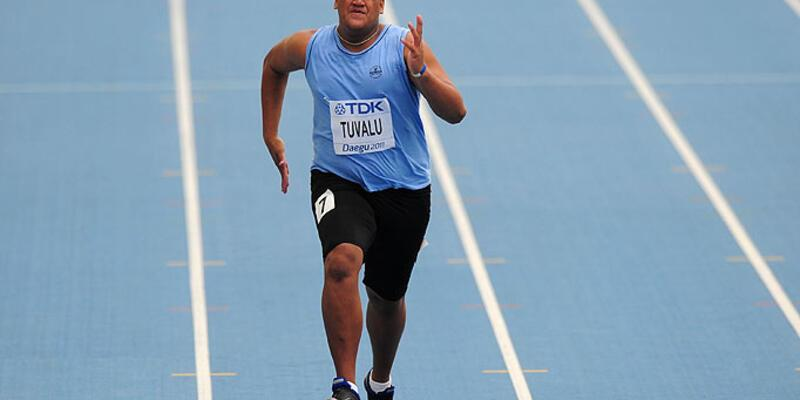 100 metre koşuda 40 metre fark yedi!