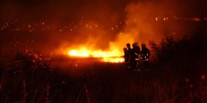 Sabiha Gökçen'de yangın!