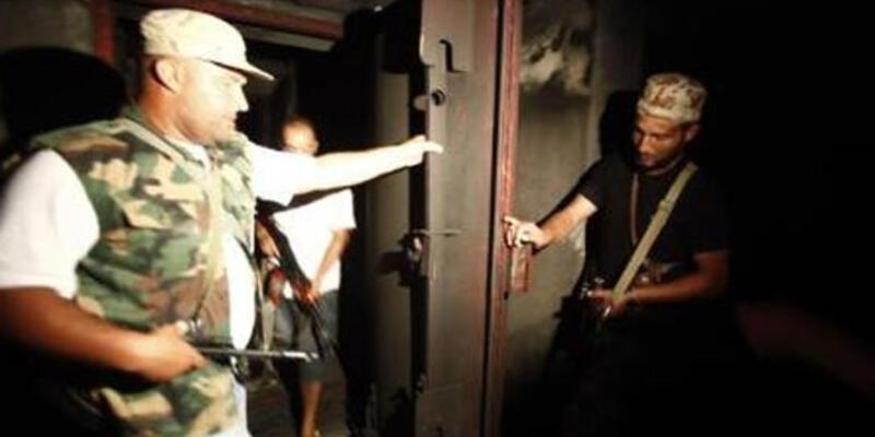 Kaddafi bu tünellerden mi kaçtı?