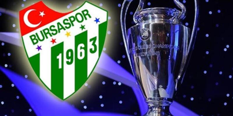 Bursaspor Şampiyonlar Ligi'ni istedi