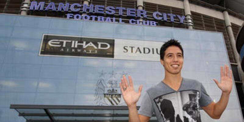Nasri Manchester City'li oldu
