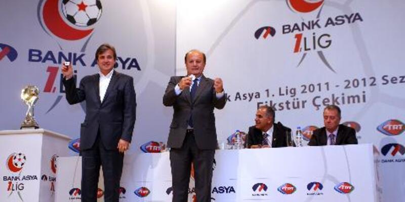 Bank Asya 1.Lig fikstürü çekildi