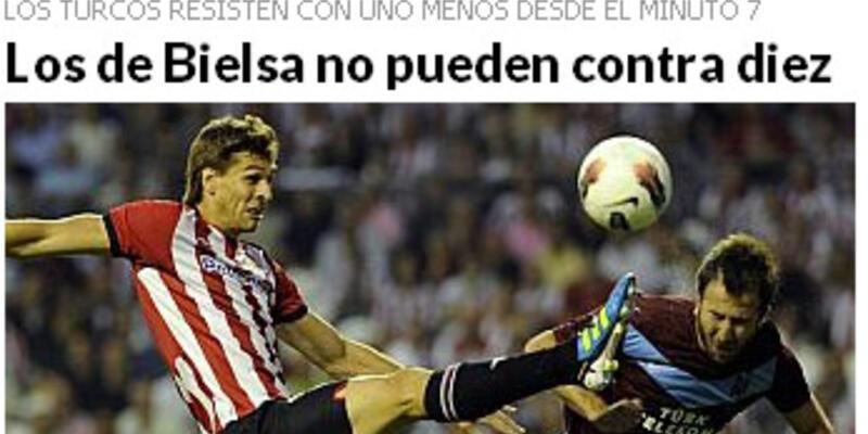 İspanyol basını Tolga'ya övgü yağdırdı