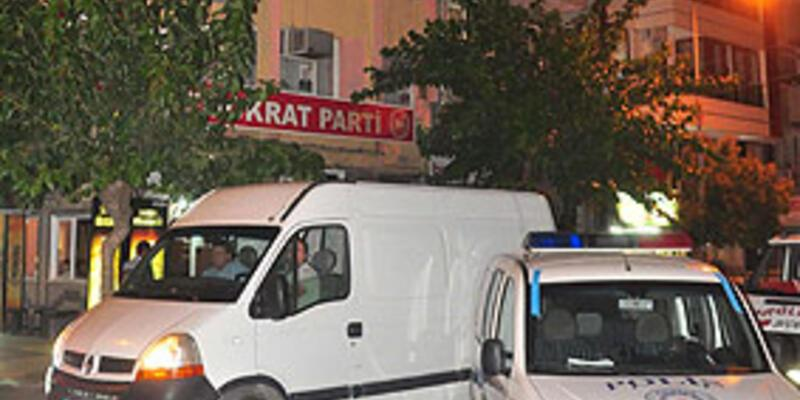 BDP binasına saldırıda 2 gözaltı