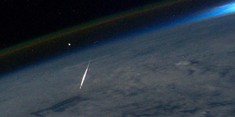 Göktaşı uzaydan fotoğraflandı