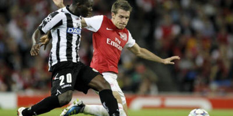 Arsenal Fabregas'sız da kazandı