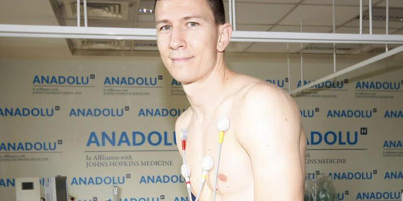 Ilievski sağlık kontrolünü geçti