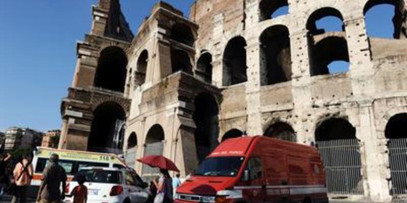 Colosseum'a bomba!