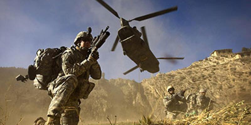 NATO helikopteri düştü: 31 ABD askeri öldü