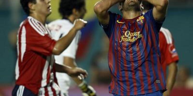 Barcelona bu kez dağıldı: 1-4