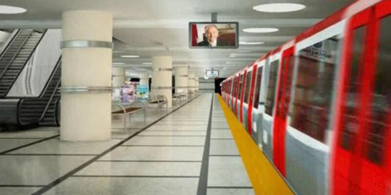 İşte Kadıköy-Kartal metrosu...