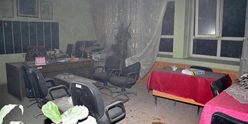 İlköğretim okuluna molotoflu saldırı