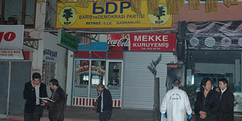 BDP ilçe binasına silahlı saldırı