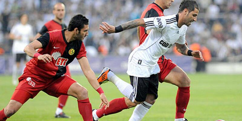 Beşiktaş sahasındaki son maçta galip