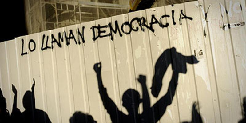 İspanya'da kemer sıkma çatışması