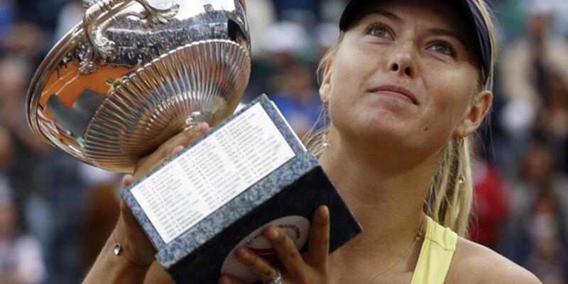 Sharapova bir yıl sonra turnuva kazandı