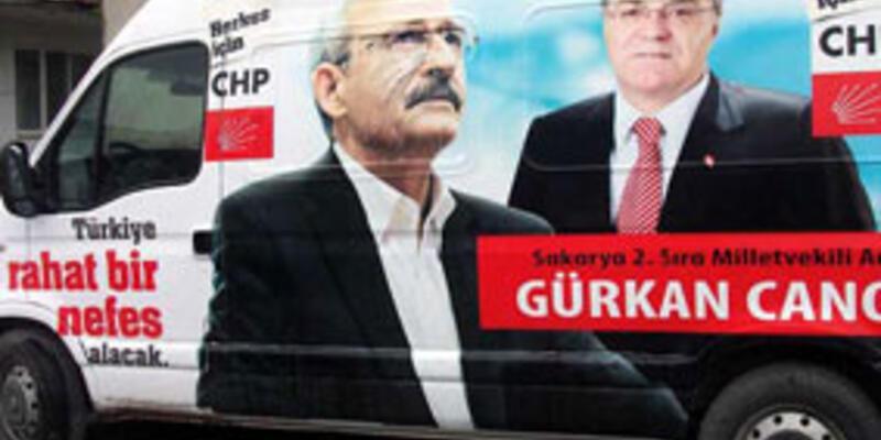 CHP'li adayın seçim aracına saldırı