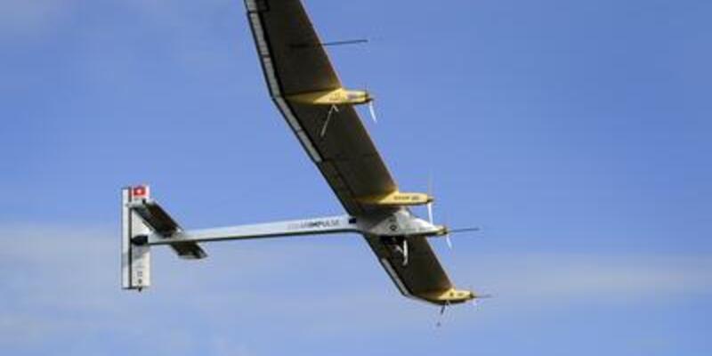 """Solar Impulse """"uluslararası"""" uçuyor"""