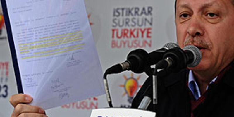 Kılıçdaroğlu'nu belgeyle vurdu!