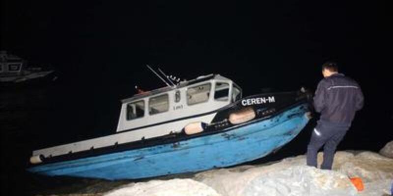 Kumkapı'da tekne kazası!