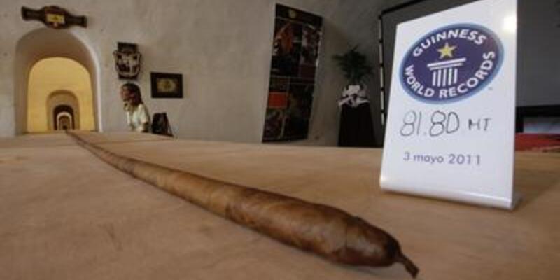 Dünyanın en uzun purosu