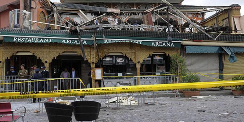 Fas Marakeş'te patlama: 15 ölü