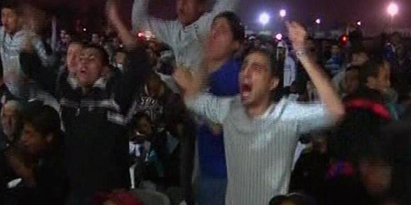 Libya'da bu kez maç heyecanı vardı