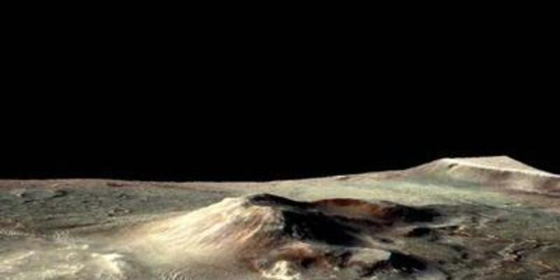 Mars'ta kuru buz!
