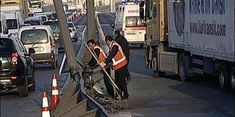 FSM'de trafik kazası: 8 yaralı