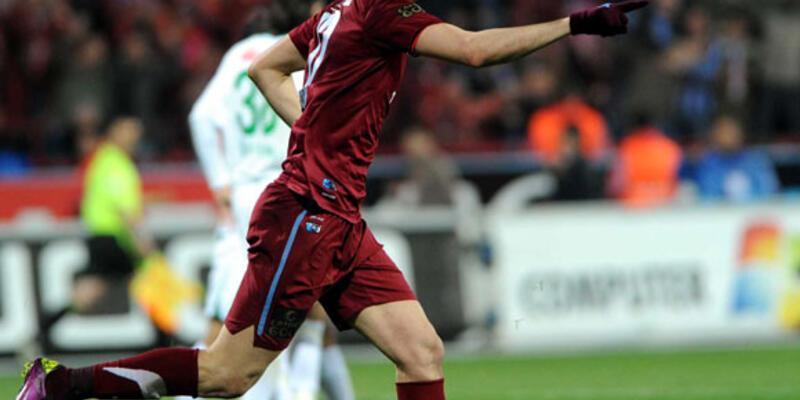 Trabzonspor, Bursa'yı da Burak'la geçti