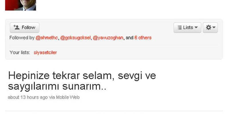 Twitter'da Bakan Şimşek'e Gaziantep sitemi