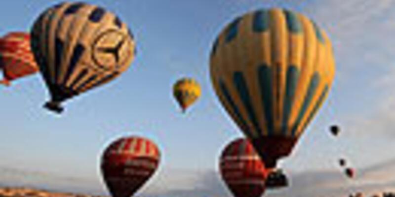 Kapadokya'da 6 balon firmasına durdurma