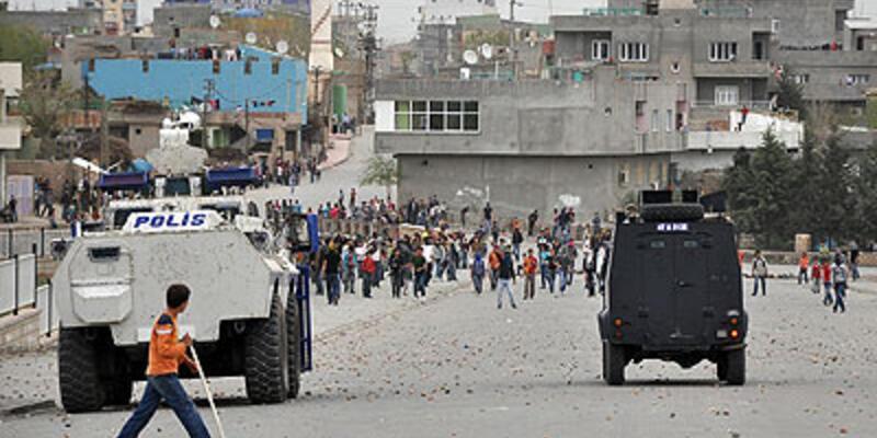 Nusaybin'de izinsiz gösteri: 1 gözaltı