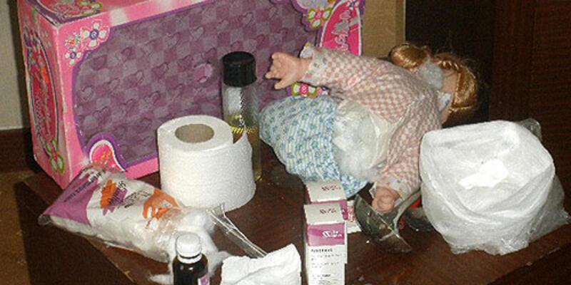 Oyuncak bebekten kokain çıktı!