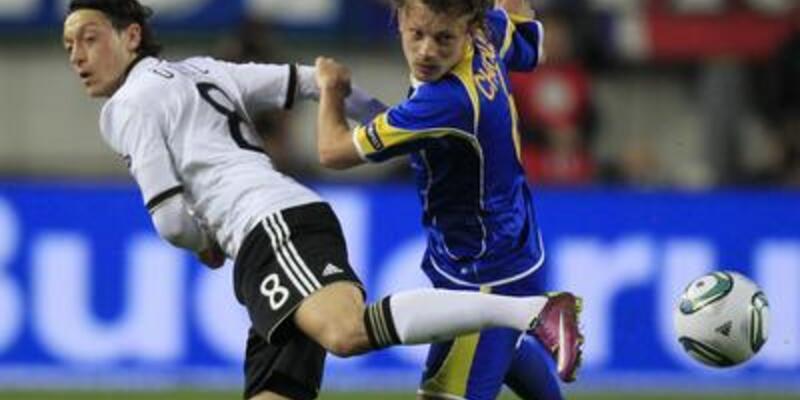Almanya Kazakistan'ı evire çevire yendi