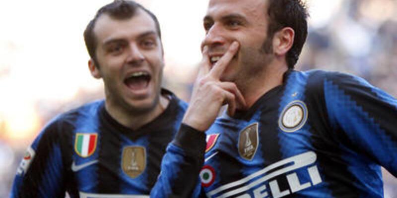 Lecce'yi yenen Inter zirveyi gördü