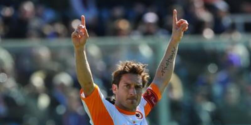 Totti'den Serie A'da 200'üncü gol